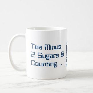 Tea Minus Two Sugars Coffee Mug