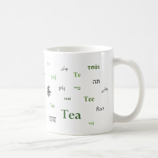 Tea of the World Mug (in green)
