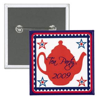 Tea Party 2009 Political Button