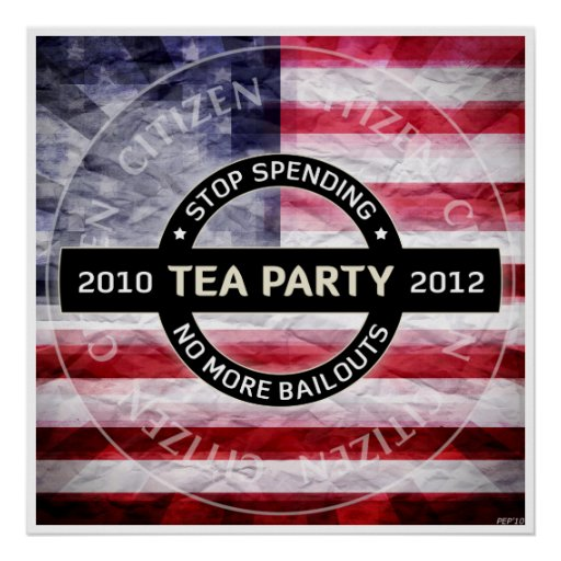 Tea Party 2010-2012 Posters