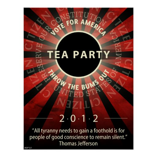 Tea Party 2012 Poster