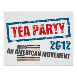 Tea Party 2012 Posters