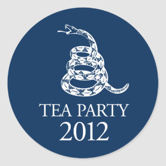 Tea Party 2012 Stickers