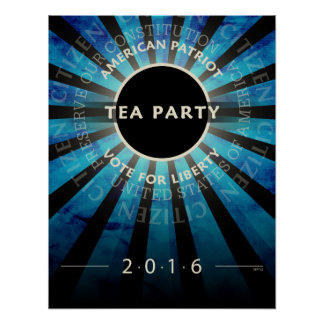 Tea Party 2016 Poster