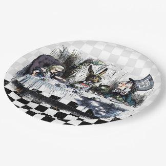 Tea Party 2 Paper Plate