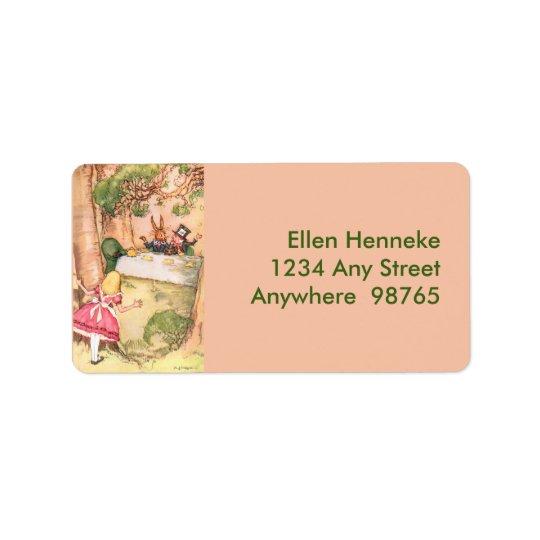 Tea Party 4 Label