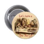 Tea Party 6 Cm Round Badge