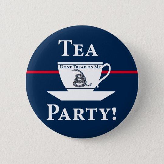 Tea Party! 6 Cm Round Badge