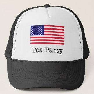 Tea Party American Flag Trucker Hat