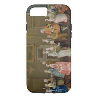 Tea Party at Lord Harrington's House, St. James's iPhone 8/7 Case