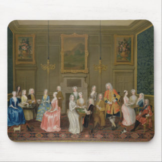Tea Party at Lord Harrington's House, St. James's Mouse Mat