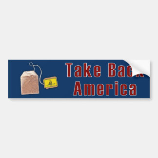 Tea Party Bumper Stick Bumper Sticker