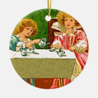 tea Party Christmas Ornament