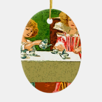 tea Party Christmas Ornament