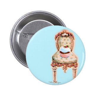 Tea Party Cupcake Design Pins