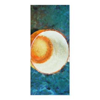 Tea party done 10 cm x 24 cm invitation card