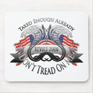 Tea Party Don't Tread On Me Mouse Pad