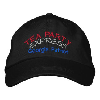 TEA PARTY EXPRESS - GEORGIA EMBROIDERED HAT