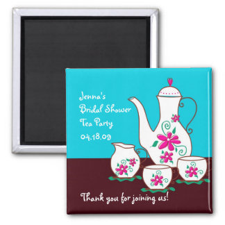 Tea Party Favor Magnets