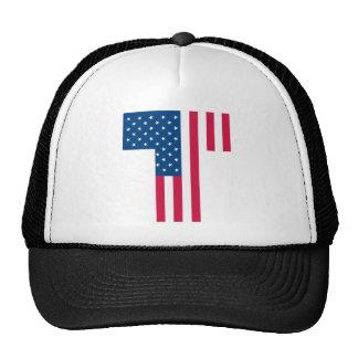 Tea Party Flag Mesh Hats