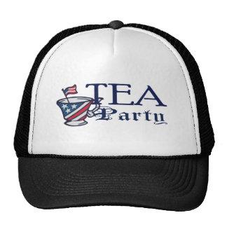 Tea Party Flag Political Cap