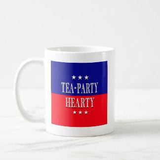 TEA PARTY HEARTY MUGS