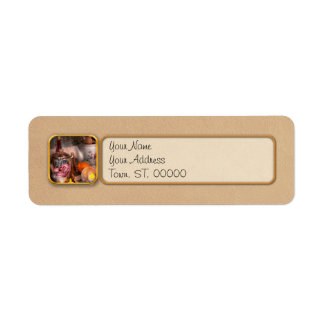 Tea Party - I would love to have some tea Return Address Label
