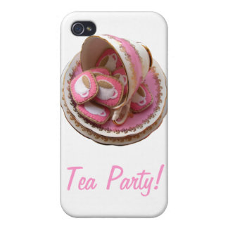 Tea Party! Cases For iPhone 4