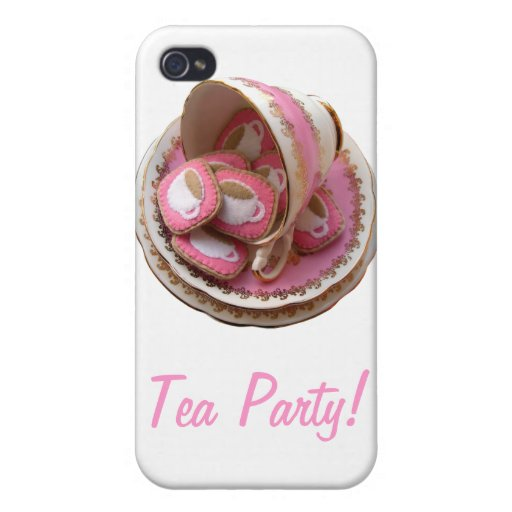 Tea Party! Cover For iPhone 4