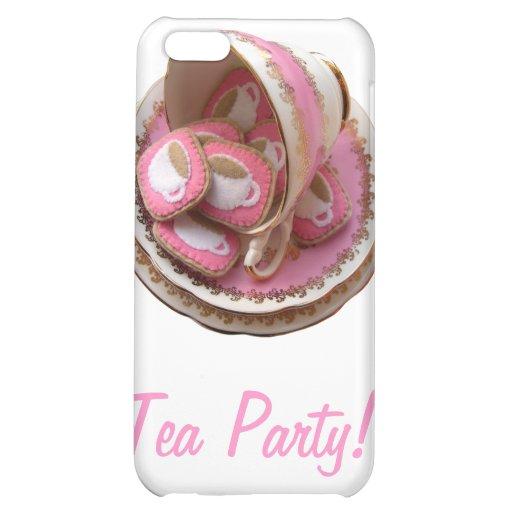 Tea Party! iPhone 5C Cases