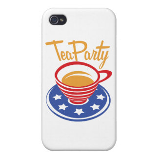 Tea Party iPhone 4 Cases