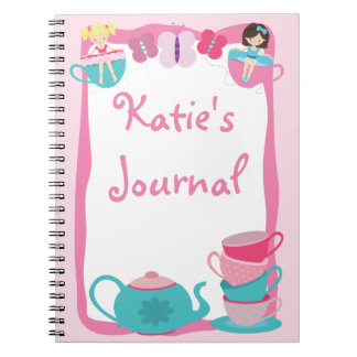 Tea Party Journal - Notebook