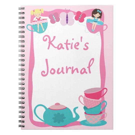 Tea Party Journal - Notebook