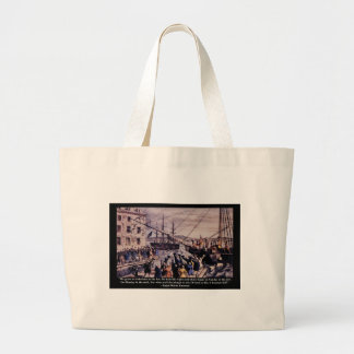 Tea Party Large Tote Bag