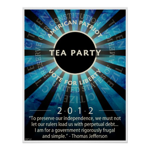 Tea Party Movement Posters