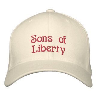Tea Party Patriot Embroidered Hat