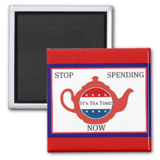 Tea Party Political Magnet