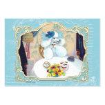 Tea Party Poodle Business Card/Profile Card