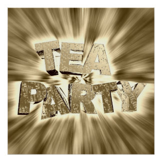 Tea Party Posters