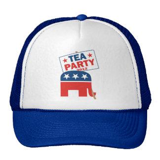 Tea Party Repbulican 2012 Hat