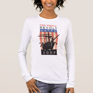 Tea Party Revolt 2009 Long Sleeve T-Shirt