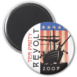 Tea Party Revolt 2009 Magnet