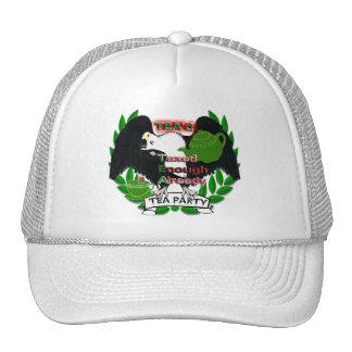 TEA Party Supplies Mesh Hat