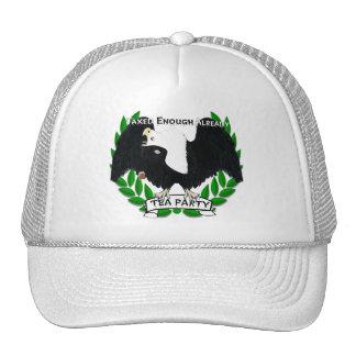 TEA Party Supplies Mesh Hats
