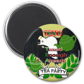TEA Party Supplies Magnets