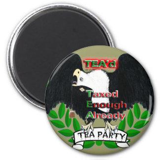 TEA Party Supplies Fridge Magnet