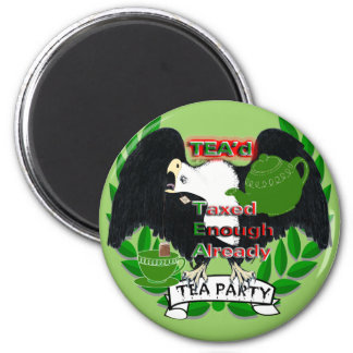 TEA Party Supplies Refrigerator Magnets