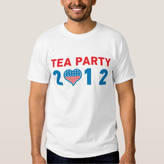 Tea Party Supporter 2012 Republican T-Shirt