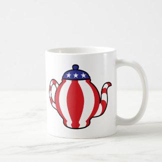 Tea Party Symbol 3D look Coffee Mugs