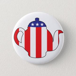 Tea Party symbol 6 Cm Round Badge